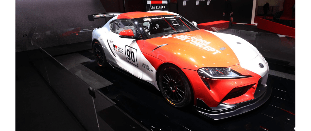 Toyota Supra GT 4
