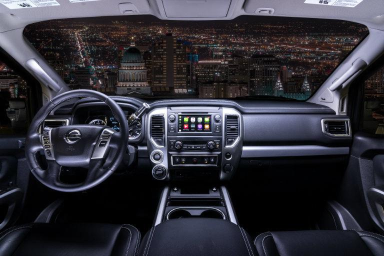 2019-Nissan-TITAN-Pro-dashboard