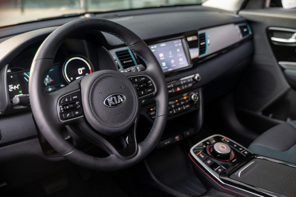 kia niro dashboard