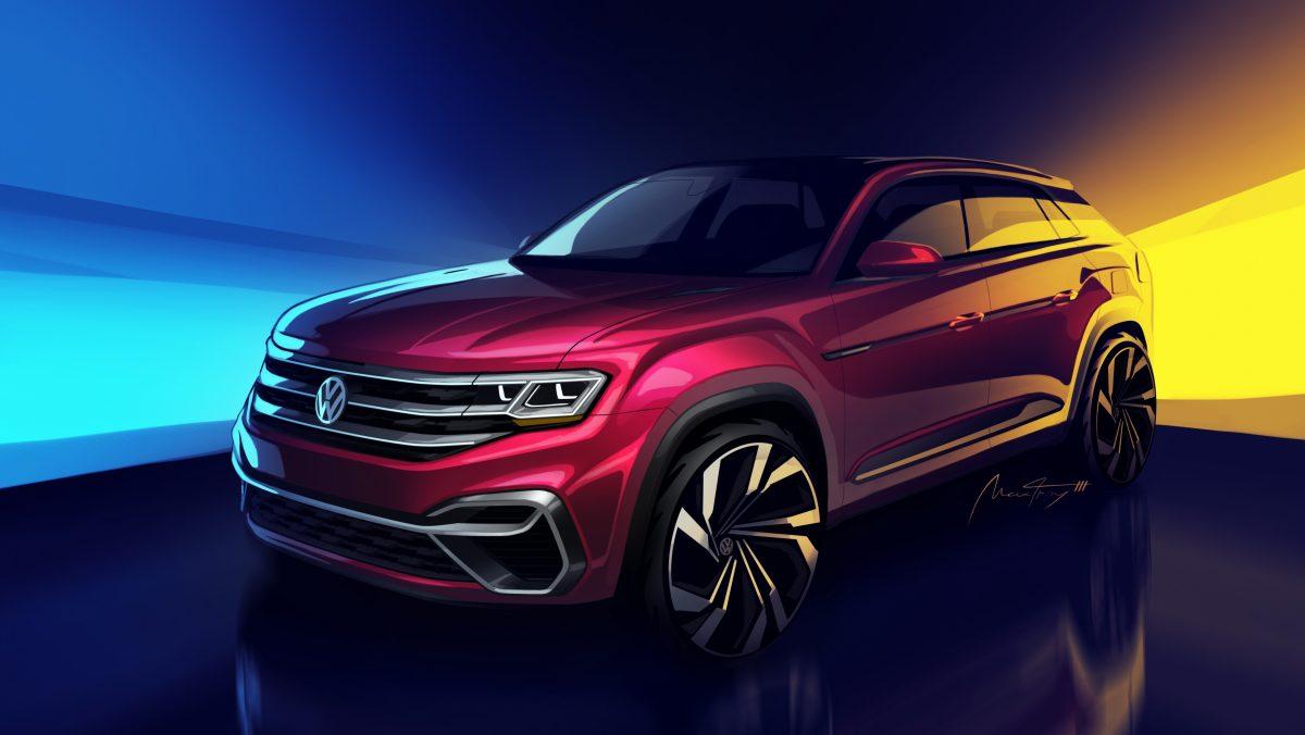 El concepto híbrido VW Atlas Cross Sport
