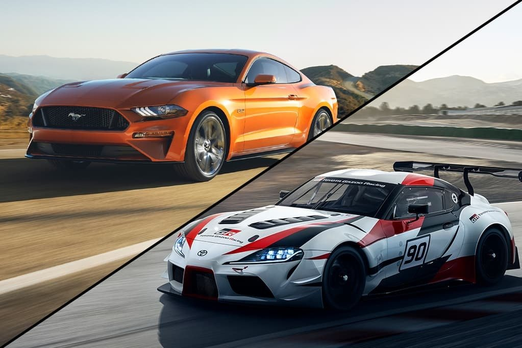 Toyota GR Supra vs Ford Mustang Shelby GT350
