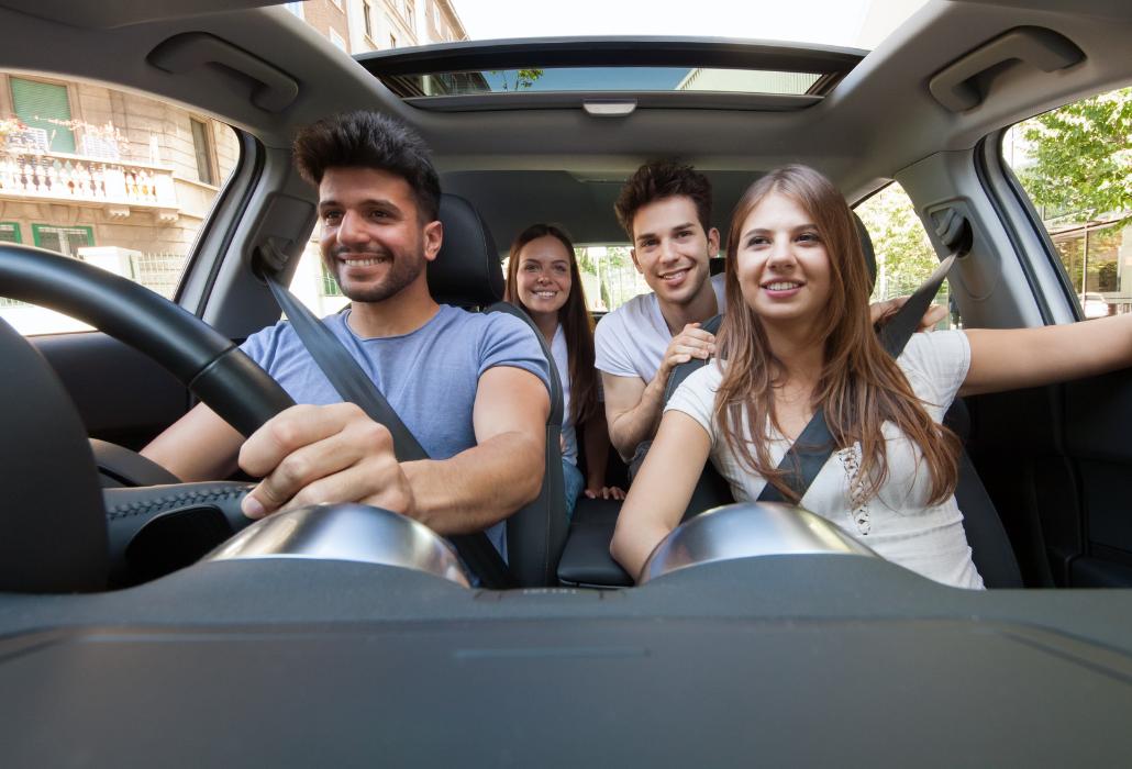 ¿Cómo funciona el seguro cuando se comparte coche?