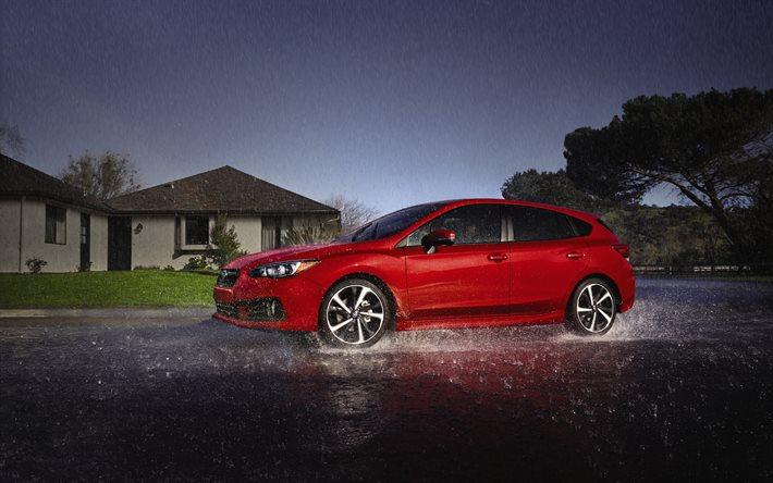 ¿Cómo conducir seguro bajo la lluvia?