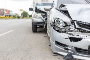 choque de automóviles