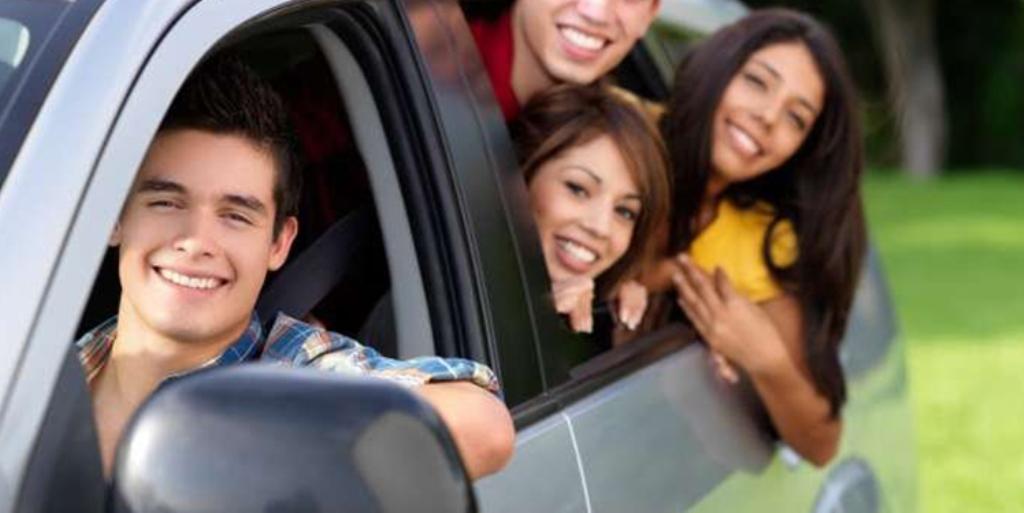 Personas en carretera
